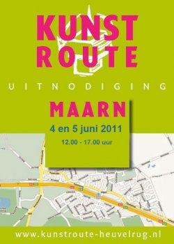 Kunstroute Maarn op 4 en 5 juni  2011
