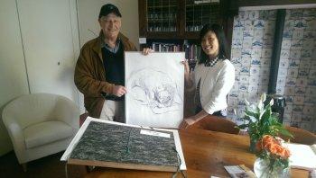 Atelier Perron 3 schenkt werk van Eiko Kondo